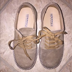 Suede Sperry Dress Shoes